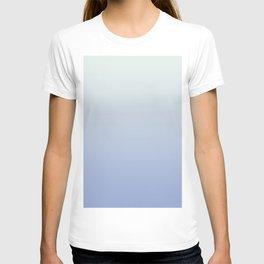 Green White Blue Gradient T-shirt