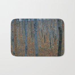 Gustav Klimt - Beech Grove I Bath Mat