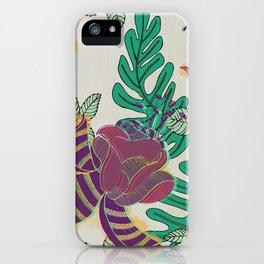 Lush Florals (Jungla 01) iPhone Case