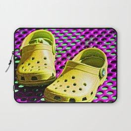 Pop Art Crocs By Sharon Cummings Laptop Sleeve