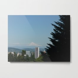Mt. Hood Skyline Metal Print
