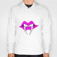 teeth Hoodies featuring Teeth by ParasiticTeddyBear