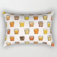 Day 042, Year 1 | #margotsdailypattern Rectangular Pillow