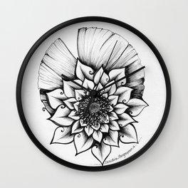 Lotus Lovely Wall Clock