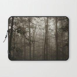 Foggy Woods Laptop Sleeve