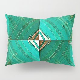 Patrick's Pleated Plaid Pillow Sham