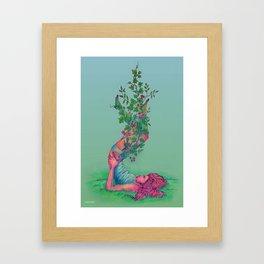 hedera Framed Art Print
