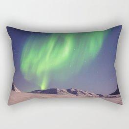 The Northern Lights (Aurora Borealis) Rectangular Pillow