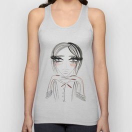 Grey Eyes Unisex Tank Top