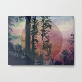 Bosco (Wood) Metal Print