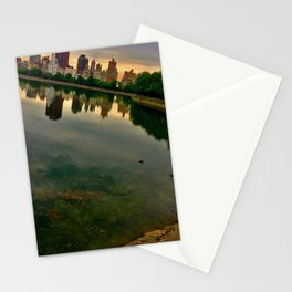 Jacqueline Kennedy Onassis Reservoir, Central Park, NYC Stationery Cards