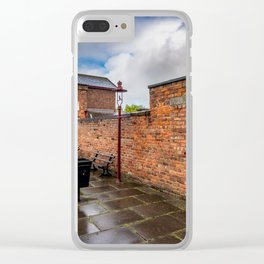 Hadlow Victorian Railway Station Clear iPhone Case