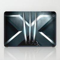 daenerys iPad Cases featuring X-MEN THE MUTAN CLAW by BeautyArtGalery