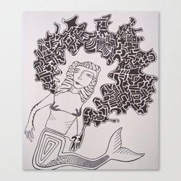 Mermaid Dreams Canvas Print