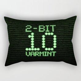 2-Bit Varmint / Binary vermin team code Rectangular Pillow