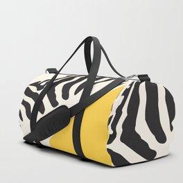 Zebra Abstract Duffle Bag
