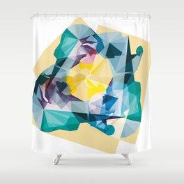 kandy mountain Shower Curtain
