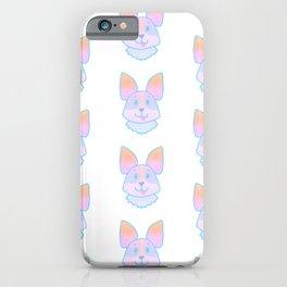 Adorable Pastel Corgi Pattern iPhone Case