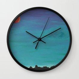 Under a Caribbean Moon Wall Clock