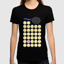 A Pink Tennis Ball in the Rough T-shirt