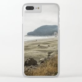 Contentment Clear iPhone Case