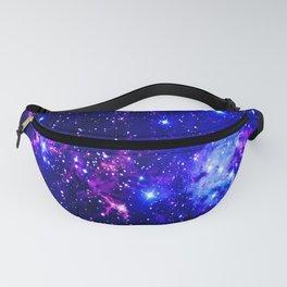Fox Fur Nebula Galaxy blue purple Fanny Pack