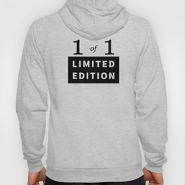 1 of 1 - Limited Edition Hoody