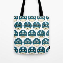 Captian A Emoji Tote Bag