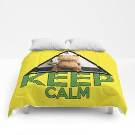 "Keep Calm ""Ted"" Comforters"