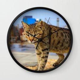Urban Panther Wall Clock