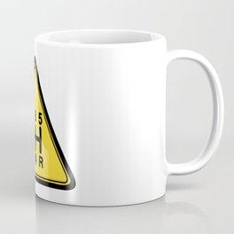 Warning 5speed Coffee Mug