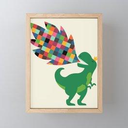 Rainbow Power Framed Mini Art Print