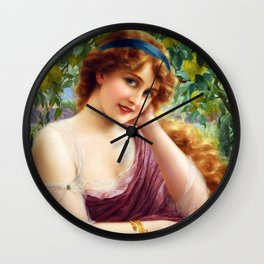 Goddess of Summer Wall Clock