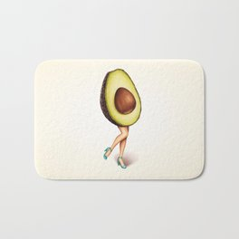 Avocado Girl Bath Mat