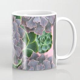 ORNATE JADE & GREEN SUCCULENT PINK   GARDEN Coffee Mug