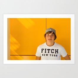 Boy Fitch New York Art Print