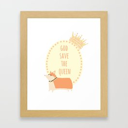 God Save the Queen Framed Art Print