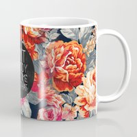 roses Mugs featuring Ain't Nobody Got Time For That by Sara Eshak