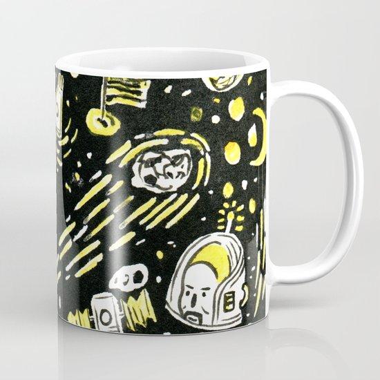 Space Beard Guy Coffee Mug