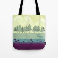 wildlife Tote Bags featuring Wildlife by Kakel