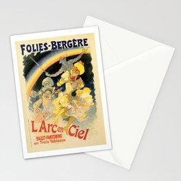 The rainbow L'arc en ciel ballet Stationery Cards