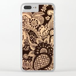Spring Time Flowers Clear iPhone Case