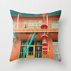 Chinatown II (San Francisco)  Throw Pillow