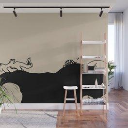 Listen and sleep - Linen Wall Mural
