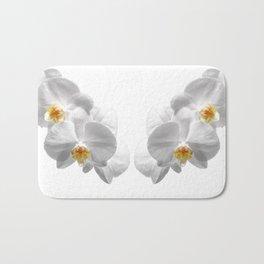 white orchid II Bath Mat