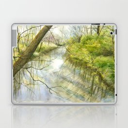 Root River at Racine Laptop & iPad Skin