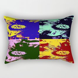 Camellias - Pop Art Rectangular Pillow
