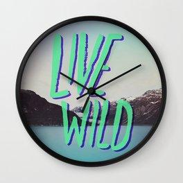 Live Wild: Alaska Wall Clock