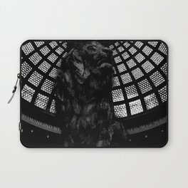 Stands in an attitude of defiance against the Censor Laptop Sleeve