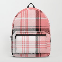 Pink Tartan Backpack